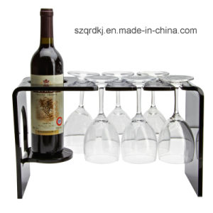 Acrylic Display Stand Machining for Wine Shelf (QRD-090)
