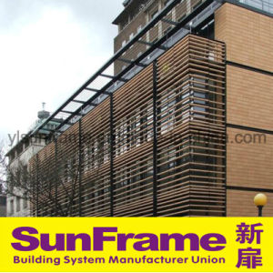 Aluminium Louvers for Building Facade Decoration pictures & photos