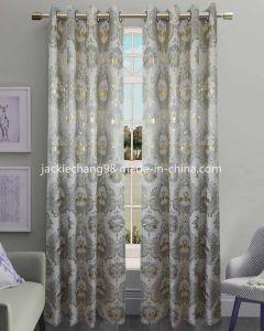 Jacquard Grommet Panel Window Curtain (HR14WT112) pictures & photos