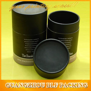 Big Black Cardboard Cylinder Boxes pictures & photos