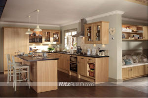 High Quality MDF Lacquer Finish Kitchen Cabinet pictures & photos