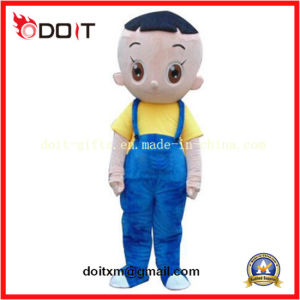 Customized Cartoon Character Big Head Son Mascot Costume pictures & photos