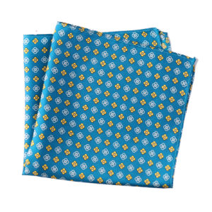 Luxury Silk Polyester Dots Plaid Flower Printed Pocket Square Hanky Handkerchief (sh-030) pictures & photos