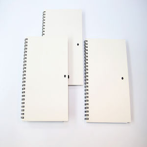 Spiral Binding Notebook with Simple Soft Cover pictures & photos
