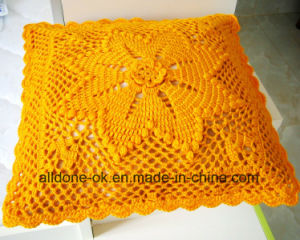 New Design Hand Knit Crochet Cushion Cover Pillow Case pictures & photos