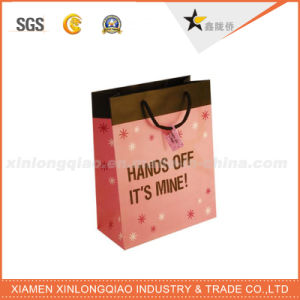 High Quality Durable Recyclable Cosmetic Gift Paper Bag for Packaging pictures & photos