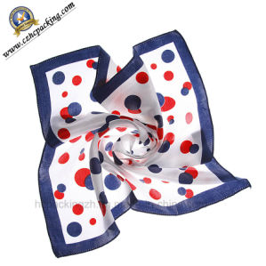 Fashion Square Silk Scarf for Ladies (HC00150625003) pictures & photos