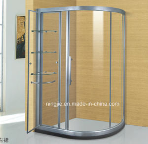 Sanitary Ware Bathroom Aluminium Shower Cabin (A-035C) pictures & photos