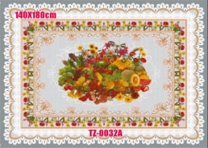 Cheap Price PVC Transparent Independ Tablecloth in Roll Wholesale pictures & photos
