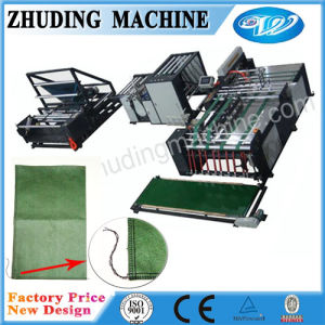 Non Woven Rice Bag Cutting Sewing Making Machine pictures & photos