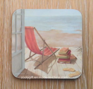 Custom Design Printing Promotional MDF Cork Cup Coaster 4 Coaster Pad pictures & photos