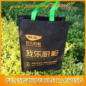 Black Promotional Non Woven Bags Shopping Reusable (BLF-NW214) pictures & photos
