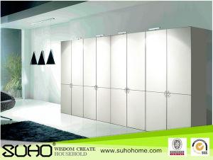 PVC Wooden Cabinet Door of Aluminum Alloy