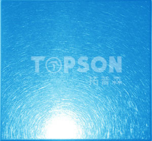 PVD Cold Rolled Vibration Color Stainless Steel Sheet for Decoration pictures & photos