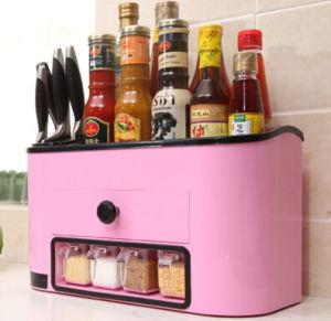 Multifunction Kitchen Storage Box Ofcondiment Dispenser pictures & photos