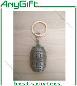 Zinc Alloy Die Cating Barrel Keyring pictures & photos