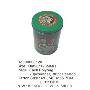 Wholesale Round Food Tin Box with Custom Printing pictures & photos