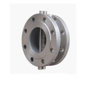 H46/H46f Wafer Type Double Flange Double Clack Swing Check Valve pictures & photos
