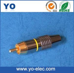 RCA Phone Plug for 5mm Cable (YO 20-144)