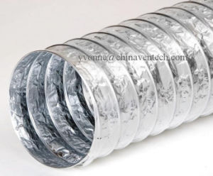 HVAC Systems Aluminum Non-Insulation Flexible Duct pictures & photos