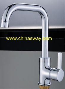 Brass Sink Faucet with Movable Spout, Chrome (SW-09582) pictures & photos
