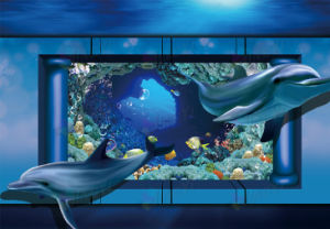 Ocean 3D wall Vinyl self adhesive stickers Printing pictures & photos