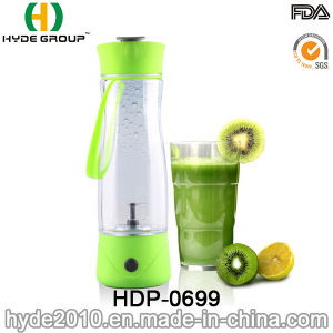 Portable Plastic Electric Juice Vortex Shaker Bottle (HDP-0699) pictures & photos