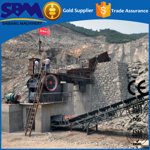 Sbm 2017 PE Series Capacity 30-600tph Stone Crusher Machine Price pictures & photos