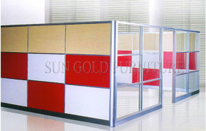 Modern Used Commercial Glass Office Short Wall Partition (SZ-WS588) pictures & photos