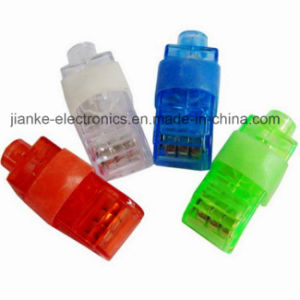 Colorful LED Lighting Finger Torch with Logo Print (4012)