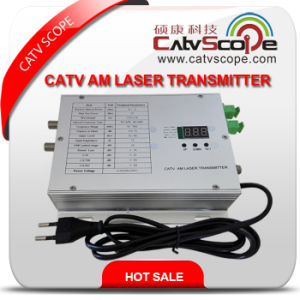 Catvscope CATV 1310nm Am Optical Laser Transmitter and Receiver pictures & photos