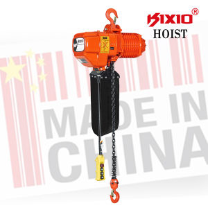 Monophase 500kg Electrical Chain Hoist with Hook Suspension pictures & photos