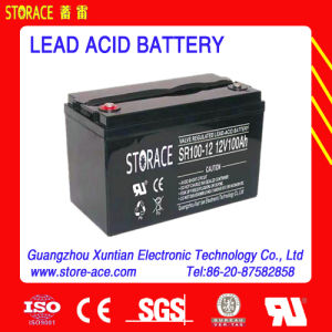 12V 100ah Sealed Lead Acid Battery for Solar Lighting Systems pictures & photos