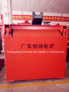 Induction Melting Furnace by Hydraulic Steel Shell pictures & photos