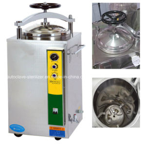Pressure Sterilizer 35liters Hospital Steam Sterilizer for Sale pictures & photos
