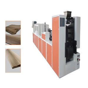 Roll Feeding Square Bottom Paper Bag Making Machine pictures & photos