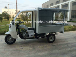 200cc Three Wheel Motorcycle/Tricycle with Mobile Shops (TR-23) pictures & photos