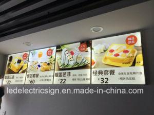 LED Menu Display with Aluminum Snap Light Box pictures & photos