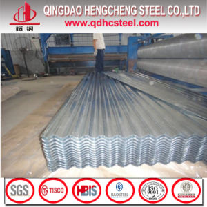 ASTM A653m G40 Semihard Galvanized Corrugated Steel Plate pictures & photos
