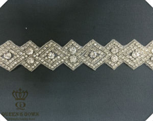 Hand-Beaded Long Diamond Belt Accessories, DIY Accessories