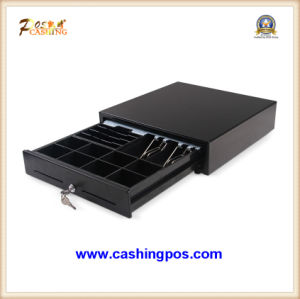 All Stainless Steel Series Cash Drawer and POS Peripherals Lk-410 for POS System