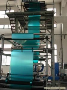 Double-Layer Co-Extrusion Film Blowing Machine pictures & photos