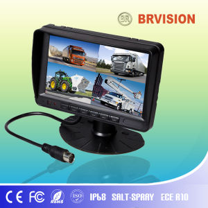 "7"" Digital Waterproof Split Screen Monitor (BR-TMQ7001) pictures & photos"