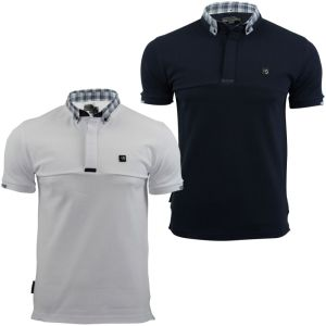 Mens Custom CVC Pique Polo Shirt with One Pocket (A321) pictures & photos