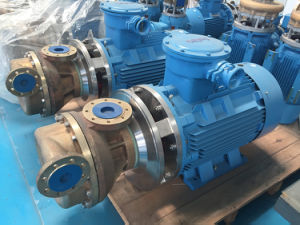 Low Price Horizontal Cryogenic Liquid Transfer Oxygen Nitrogen Argon Coolant Oil Centrifugal Pump pictures & photos