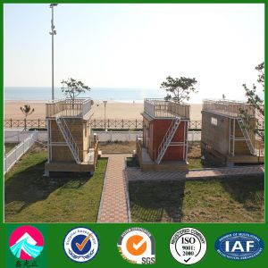 Prefabricated Container House with PVC Cladding Decoration (XGZ-PCH 031) pictures & photos