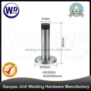 Stainless Steel Cylinder Decorative Door Stop/ Door Stopper (HDS024) pictures & photos