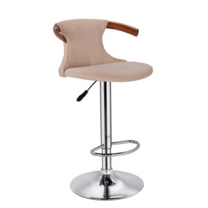 Wooden and Fabric Furniture Rotary Bar Chair for Sale (FS-WB1976) pictures & photos