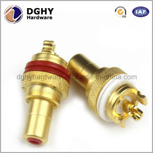 High Precision Custom Made Brass Metal CNC Central Machinery Lathe Parts pictures & photos