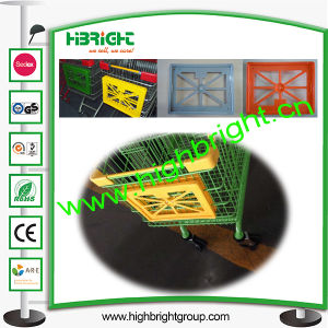 Shopping Trolley Plastic Advertisement Board pictures & photos